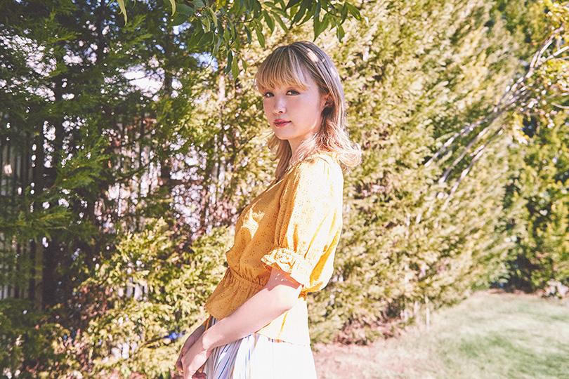 Dream Amiが着まわし♡ 春風に揺れるリバーシブルスカート