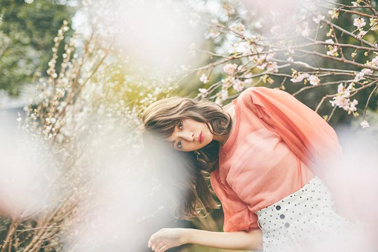 八木アリサvol.13♡ お花見は暖色コーデが気分