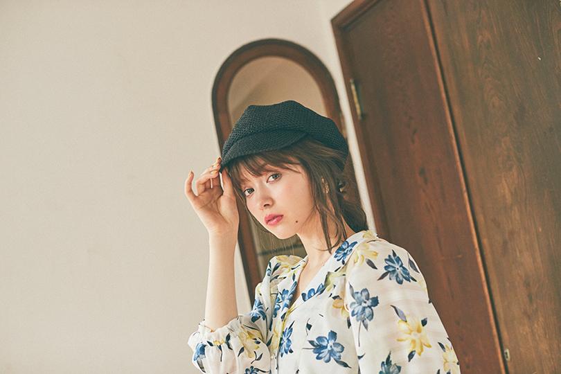 八木アリサvol.17♡ カイキンブラウスで夏を先取り!