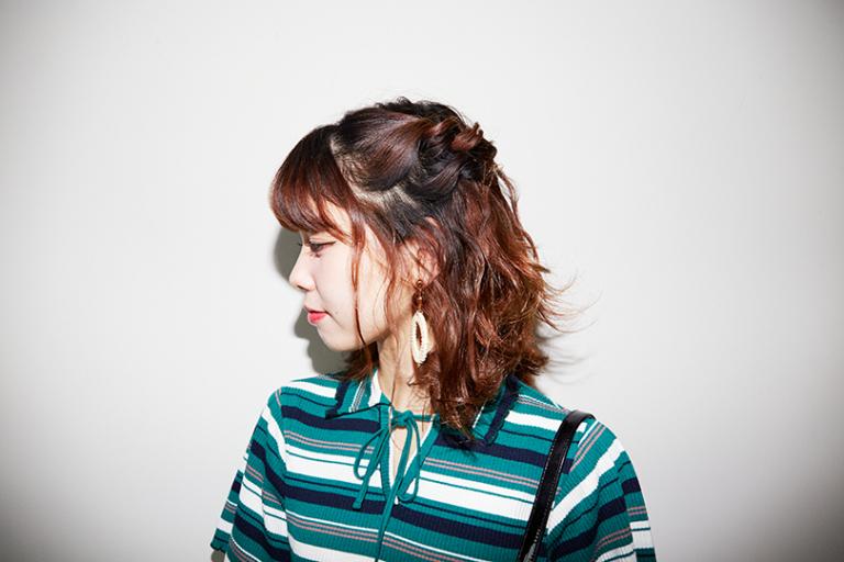 【動画】短い髪でもできる!ツインハーフアップ