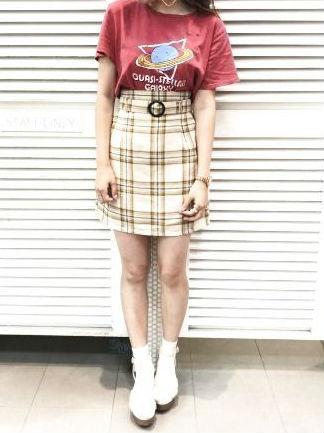夏の必須アイテム♡プリントTシャツをおしゃれに着回そう!