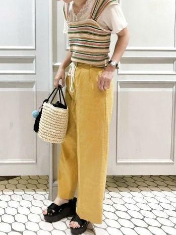 夏のワイドパンツはこう着る!かわいい最旬着こなしテク教えます♡