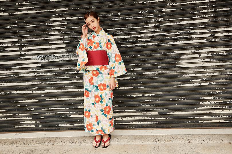 この夏は浴衣を着ておでかけしたい♡堀田茜のオシャレな浴衣スタイル