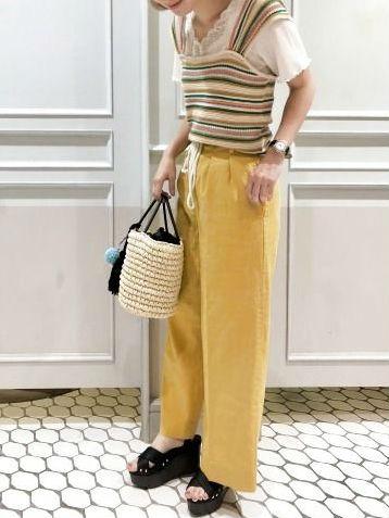 夏の定番♡ざっくり編み「サマーニット」で涼しげコーデを手に入れよう!
