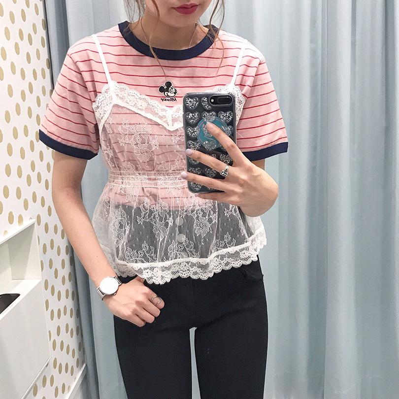 待望の再入荷アイテム「ミッキーTシャツ」!ディズニーでおしゃれに双子コーデ♡